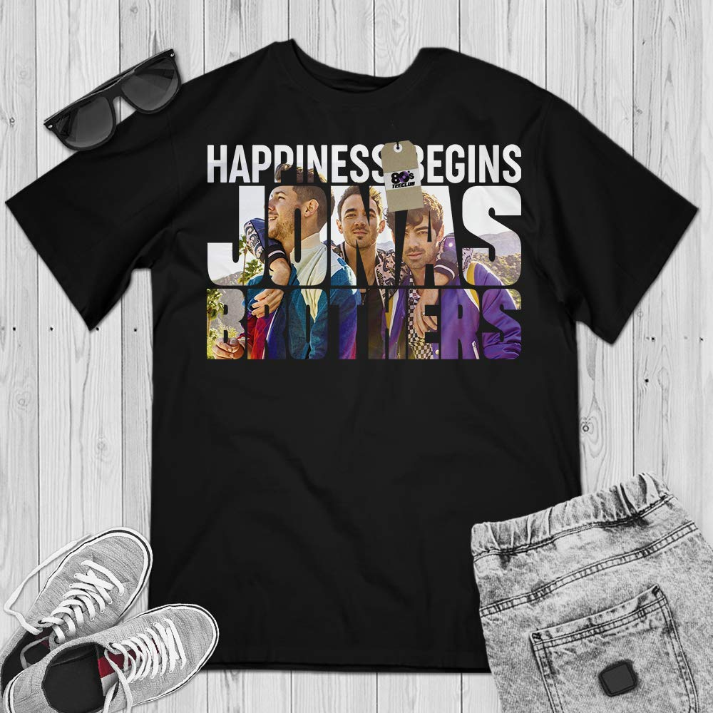 Jonas Brings Happiness Jobros Brothers Suckers Big Fans Music Lovers Customized Handmade H Shirts
