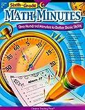 Sixth Grade Math Minutes, Doug Stoffel, 1591984300