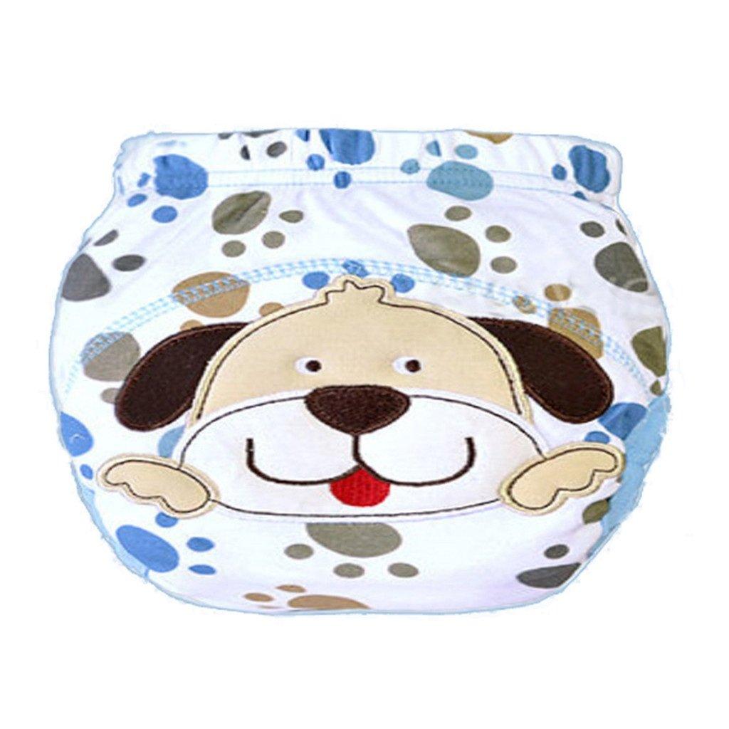 Originaltree infantile del pannolino cute Cartoon pee potty training pannolino pantaloni cotone biancheria intima Cat 80
