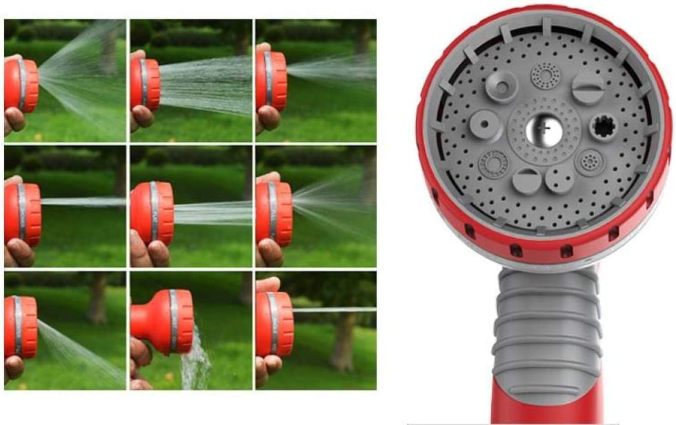 Garden Hose Pipe, Expanding Flexible Magic Lightweight Watering Hose Pipe Pattern Spray Hose Nozzle,for House/car/Floor/Yard/Window/Kitchen,15M 22m