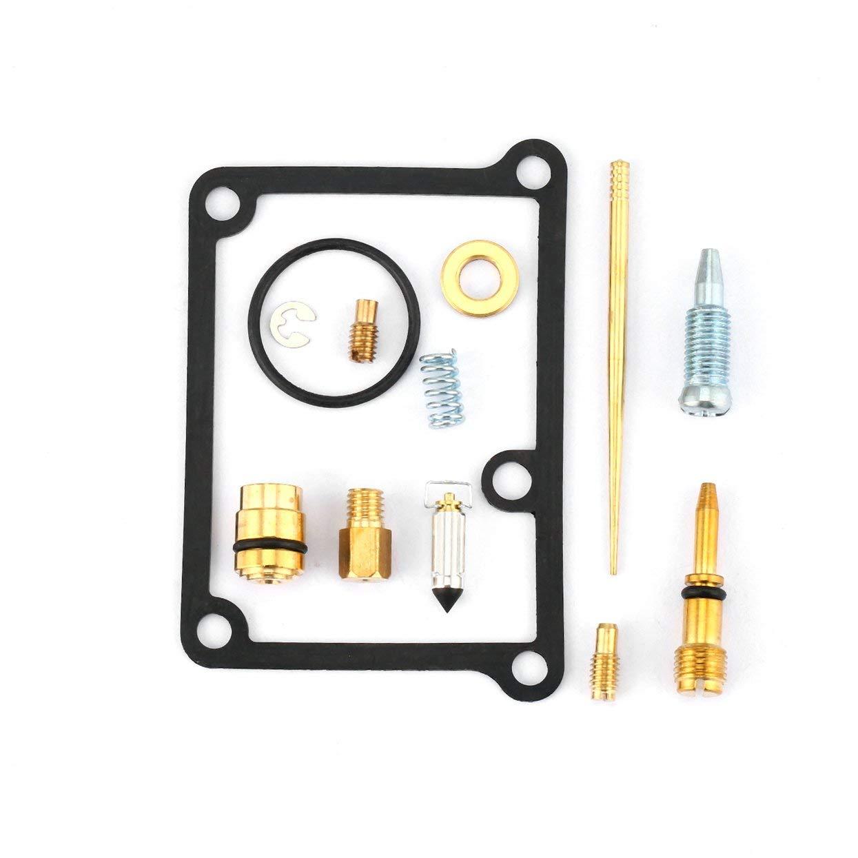 Amazon.es: Kit de reconstrucción de carburadores Kit de reparación de carburadores Accesorios de carburo para Yamaha Banshee YFZ350 YFZ 350 Juego de ...
