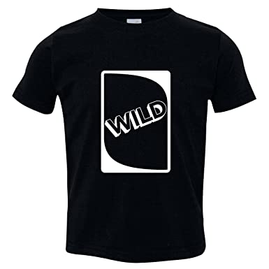 Texas Tees Uno Wild Card Shirt Funny Baby Black