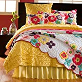 Kamila Flower Quilt (King Sham)