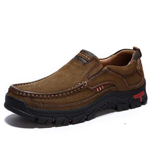 Apragaz Zapatos Oxford Formales para Hombre Zapatos Sin Cordones ...