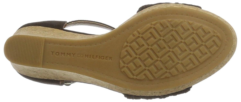 deeee475bc5ad1 Tommy Hilfiger Women s Int E1285del 5c Wedge Heels Sandals  Amazon.co.uk   Shoes   Bags