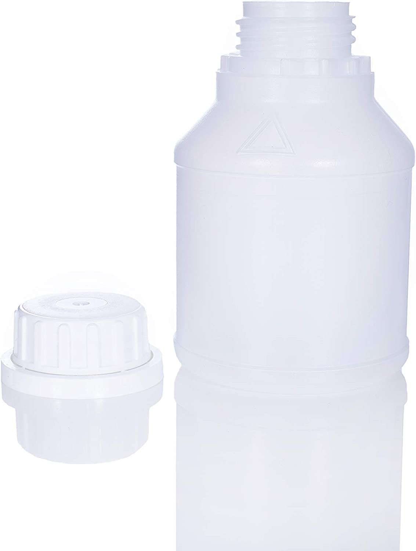 Deckel 0,25 L mit Skala inkl Plastikflasche HDPE