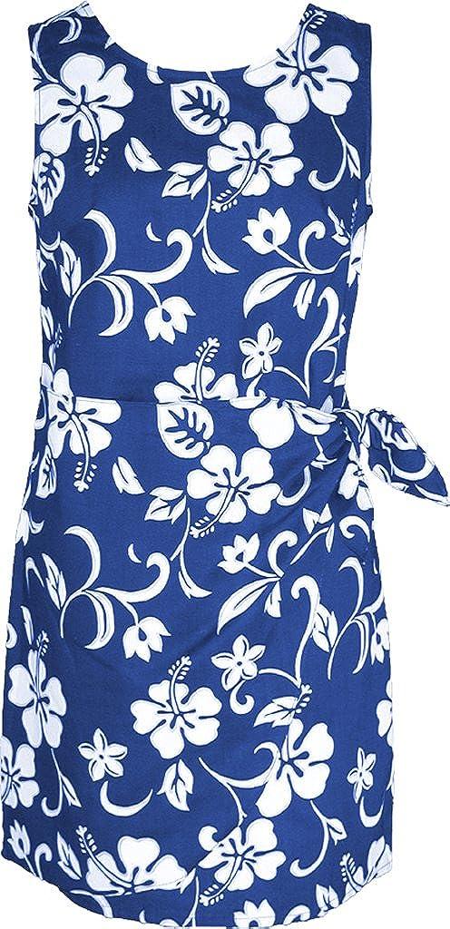 94eb35e7e1c RJC Women s Hibiscus Pareo Hawaiian Mock Wrap Sarong Dress at Amazon  Women s Clothing store