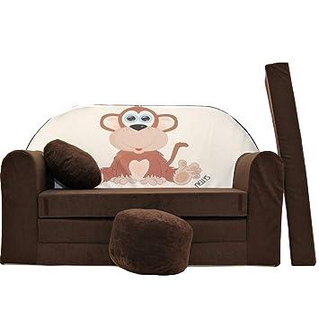 Schlafsofa Für Kinderzimmer   K2 Kindersofa Kinder Sofa Couch Schlafsofa Kinderzimmer Bett