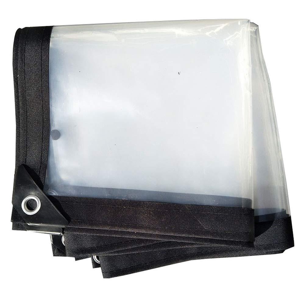 5MX10M  GZW001 Couverture imperméable de recouvreHommest de Couverture de Feuille de bÂche imperméable de bÂche pour des Meubles de Jardin, Taille Transparente et Personnalisable