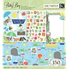 K&Company Jillian Phillips Nursery Rhymes Boy Scrap Kit, 12-by-12-Inch