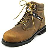 "Carhartt Men's Traditional Welt 6"" Steel Toe Work Boot Crazy Horse Brown Leather 9 D US"