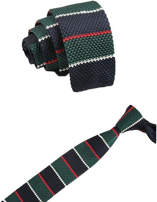 Cdet Corbata de Punto Corbata de Punto Tejida Elegante Vintage de ...