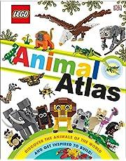 Lego Animal Atlas (Library Edition): Discover the Animals of the World (Library Edition)