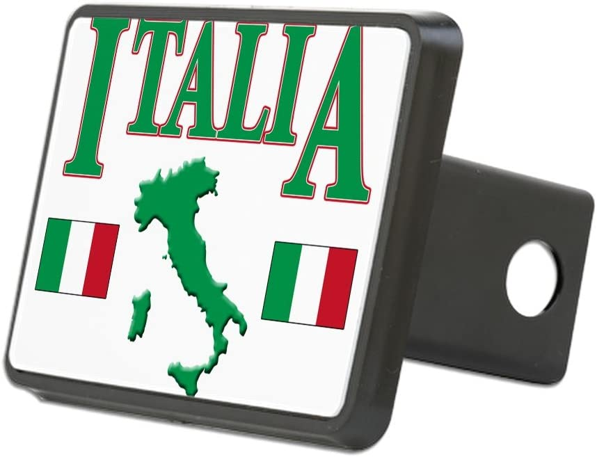 CafePress Blk Truck Receiver Hitch Plug Insert .Png Trailer Hitch Cover Italia