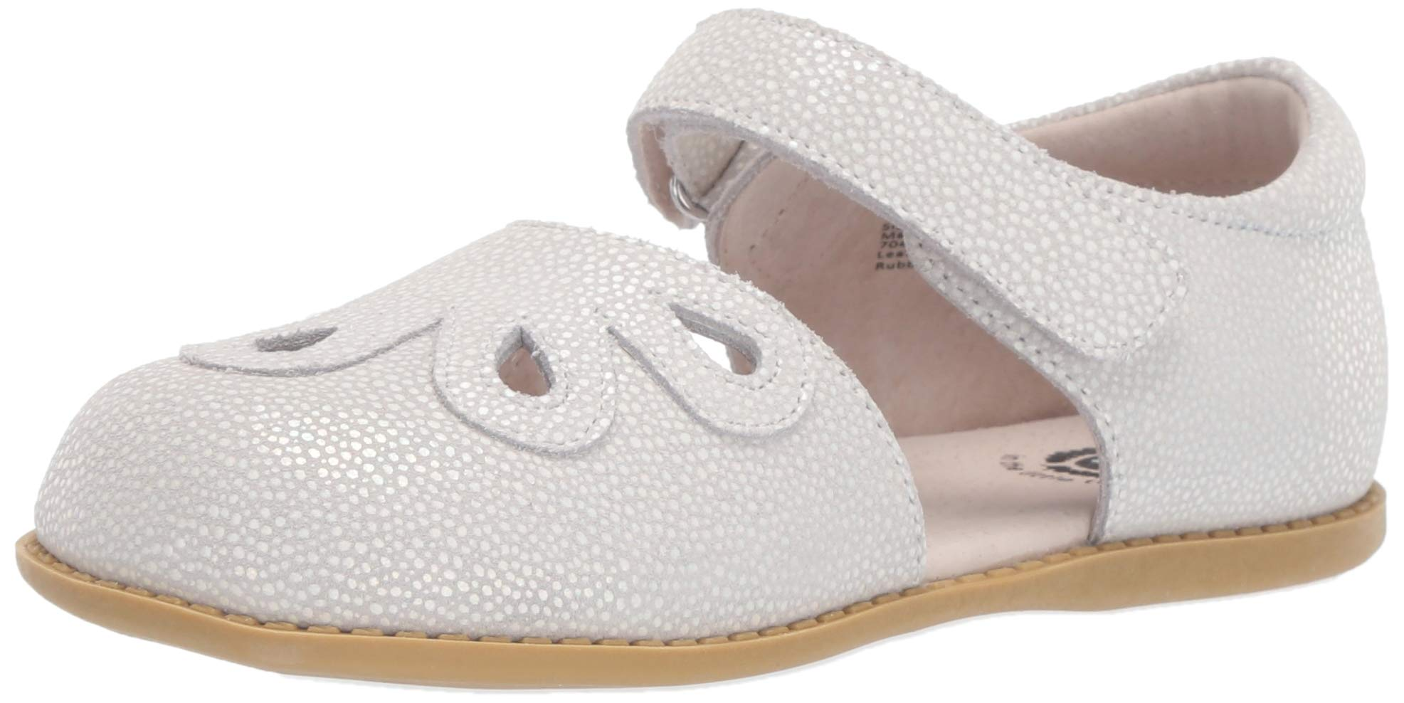 Livie & Luca Petal Leather Ankle Strap Mary Jane Flat Shoes, Toddler/Little Kid/Big Kid, Girls