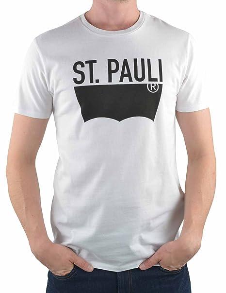 Levis® Destination Tee City St. Pauli - Camiseta para hombre, Tamaño:S