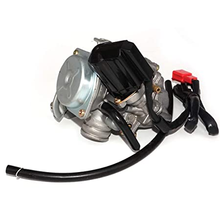 Amazon Com 18mm Carburetor Carb Fit For Gy6 50cc Scooter Moped