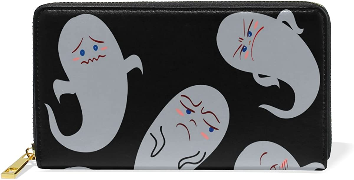 Panda Animal Genuine Leather Girl Zipper Wallets Clutch Coin Phone For Women