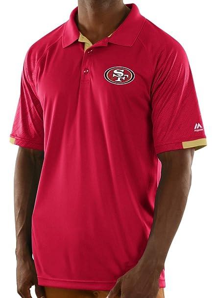 31a87ab4661 Amazon.com   Majestic San Francisco 49ers NFL Club Level Men s Short ...