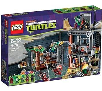 LEGO Tortugas Ninja Mutantes Adolescentes (TNMA) - Ataque a ...