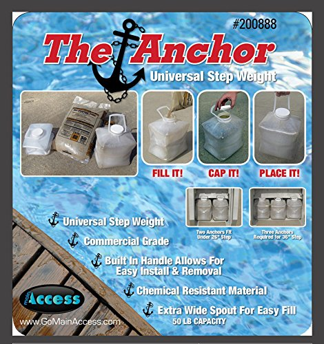 (Main Access Anchor Universal Pool Step Weight)