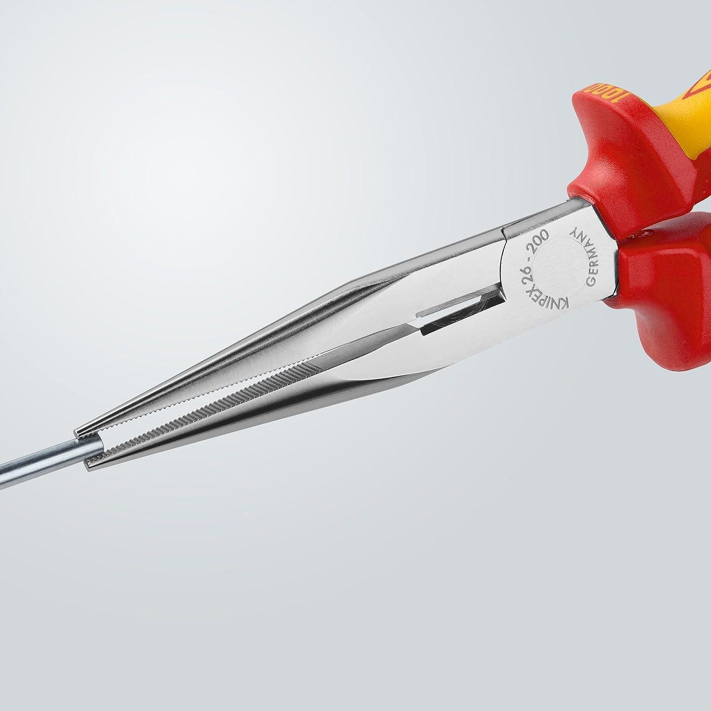 Knipex 124761 Alicate redondo Multicolor 200 mm: Amazon.es: Bricolaje y herramientas