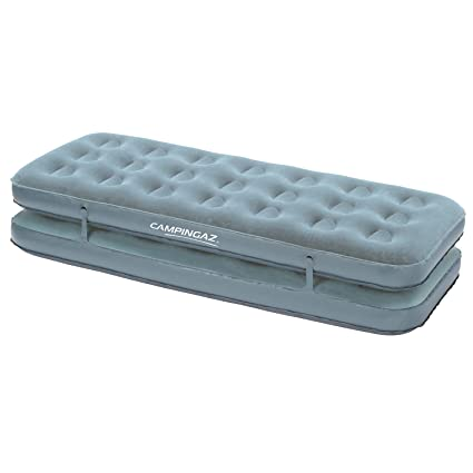 CAMPINGAZ 205488 Colchón Inflable, Convertible Quickbed Vielseitiges Luftbett, Blau, Gris, Dimensions (