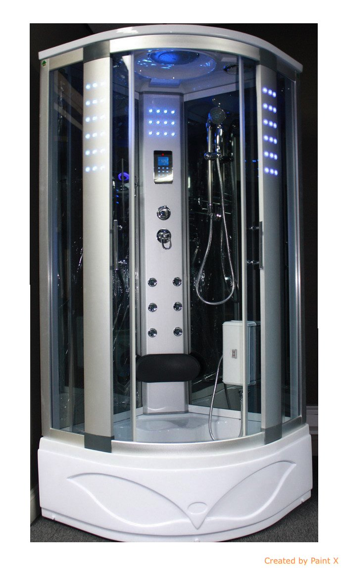 Bath Masters 8002-A Spa Steam Shower Enclosure unit with 3kw steam ...