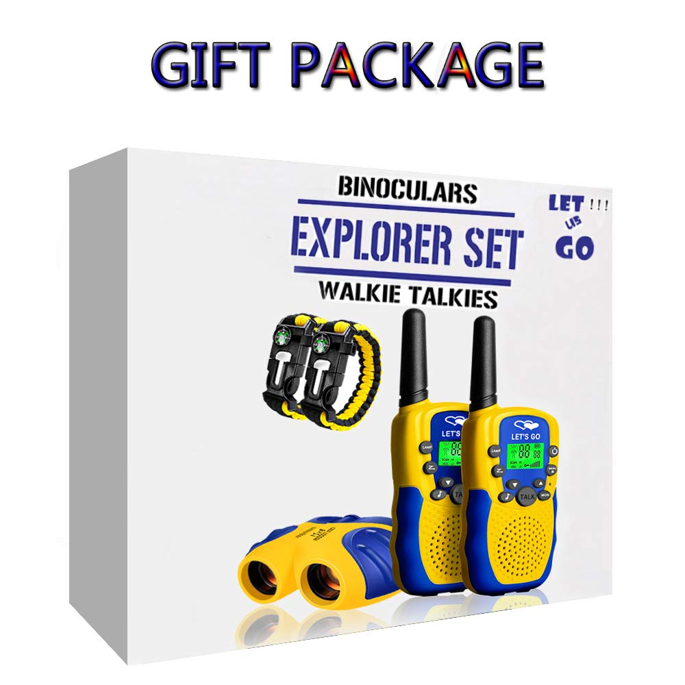 HODO Popular Outdoor Toys for 3-12 Year Old Boys, Long Range Walkie Talkies for Kids Toys for 3-12 Year Old Girls Gifts for 3-12 Year Old Boy Boy Toys Age 3-12 Girl Toys Gifts Age 3-12 HDHTS13 by HOdo (Image #6)