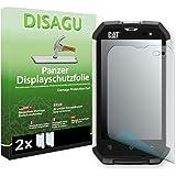 2 x DISAGU Film blindé film de protection d'écran pour Cat B15Q film de protection contre la casse