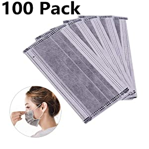 100 pack surgical disposable face masks