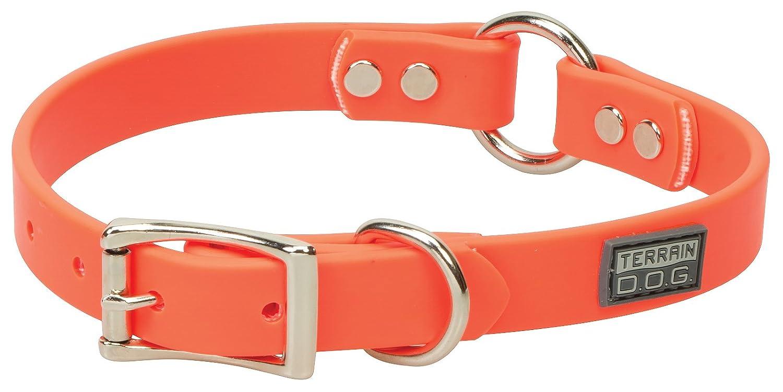 Blaze orange 3 4\ Blaze orange 3 4\ Terrain D.O.G. Brahma Webb Hunting Dog Collar