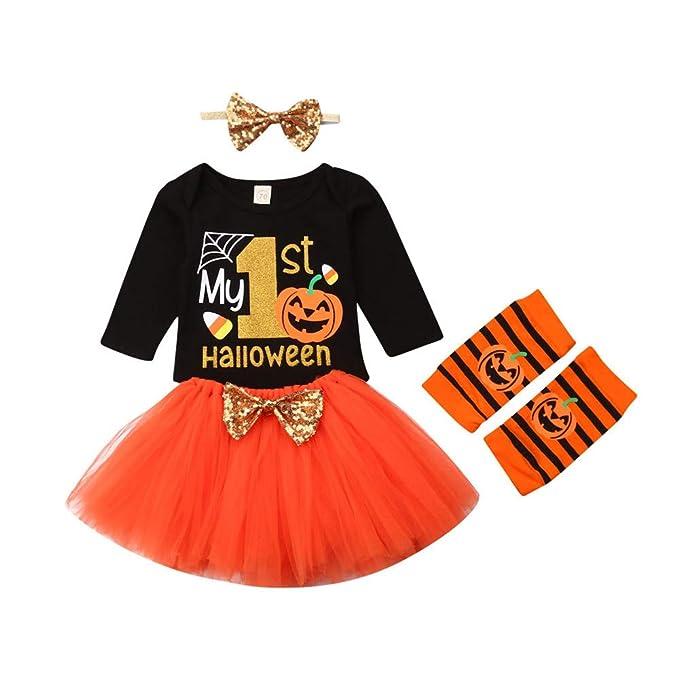 Amazon.com: Bebé mi primer traje de Halloween bebé niña ...