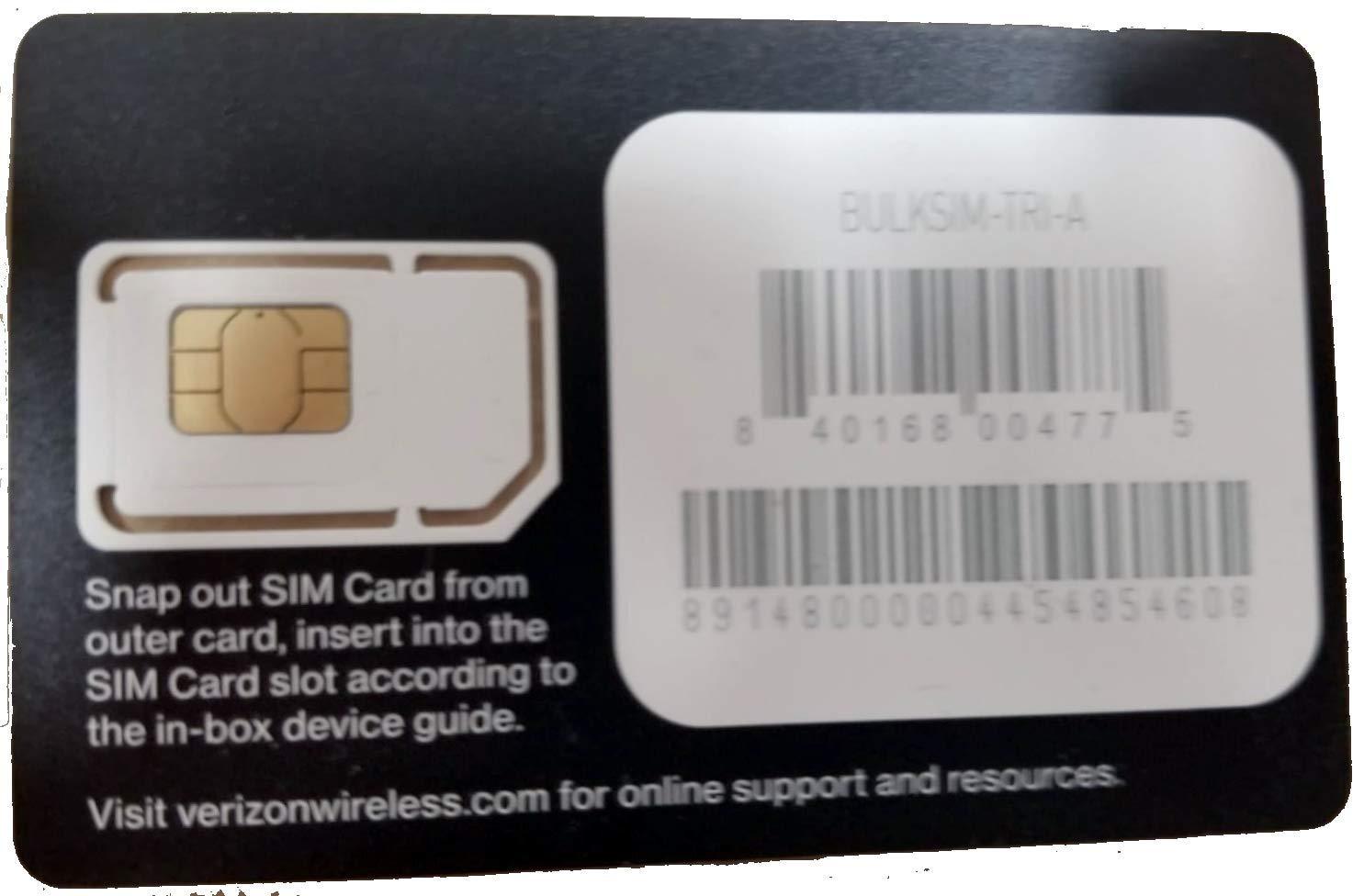 Amazon.com: Verizon Nano SIM Card (4FF) Non-NFC for iPhone X ...