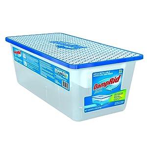 DampRid FG280 Refillable Moisture Absorber 5 lb Fragrance Free