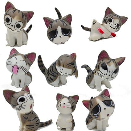 Chi gato juguetes, japonés, diseño de figuras de animales colección de muñecas de Chi
