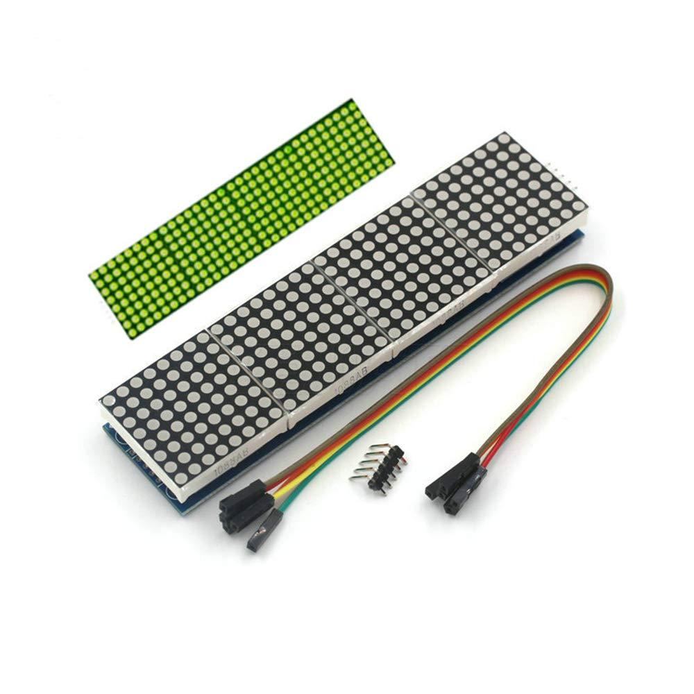 MAX7219 Dot Matrix Modulo display 4-in-1 Controllo modulo SCM per Arduino Raspberry Pi PIC Pi ARM