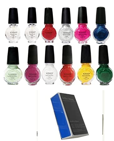 Amazon Bundle 13 Items Konad Stamping Nail Art Special