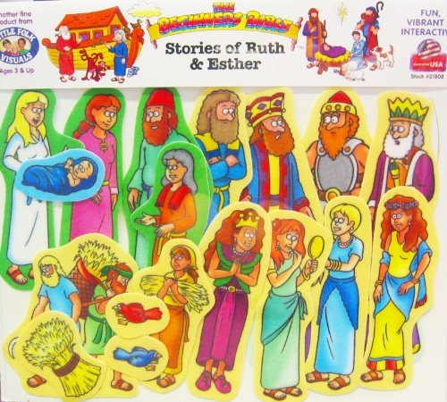Beginner Bible Story of Ruth & Esther Flannelboard Figures - Pre-Cut by Little Folk Visuals / Betty Lukens