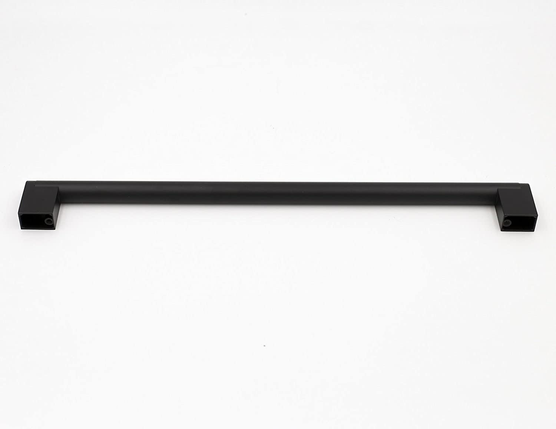 5/Pack goldenwarm negro 12/mm cuadrado barra armario jale el caj/ón mango acero inoxidable moderno hardware para cocina y ba/ño armarios armario
