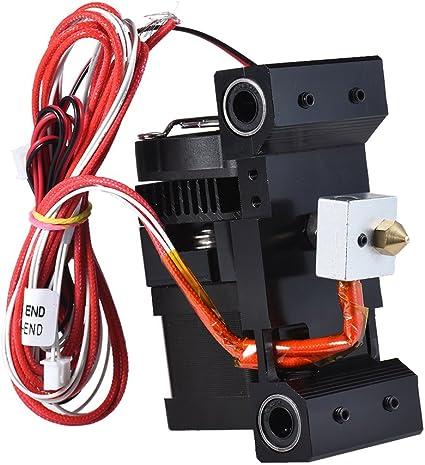 Aibecy 3D Impresora Extrusora Alimentador Alimentador Kit Boquilla ...
