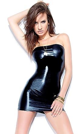 f28a08537b5 Amazon.com  Darque Womens Black Gothic Tube Dress! (Medium)  Adult ...