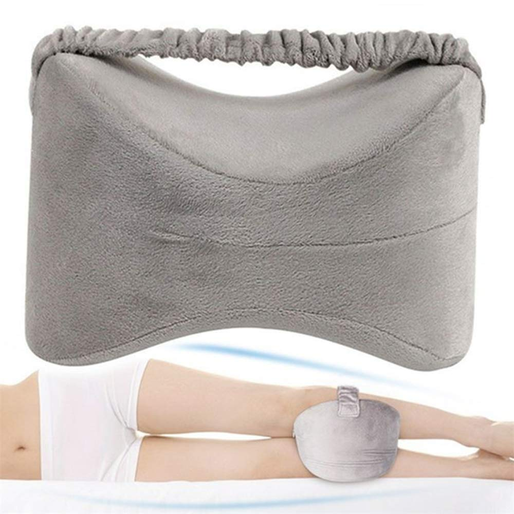 Kniekissen f/ür Seitenschl/äfer Memory Foam Kniekissen zur Behandlung von Ischias R/ückenschmerzen Schwangerschaft Beinschmerzen
