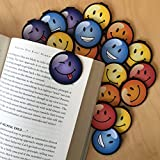 BEST SMILEY FACE Bookmarks - 36 Bulk Bookmarks for Kids girl's boys- School Student Incentives – Library incentives – Reading Incentives - Party Favor Prizes - Classroom Reading Awards!