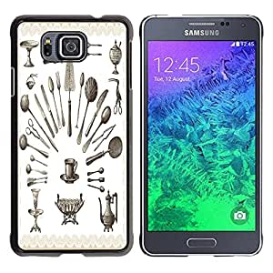 Dragon Case - FOR Samsung ALPHA G850 - you are the only one? - Caja protectora de pl??stico duro de la cubierta Dise?¡Ào Slim Fit