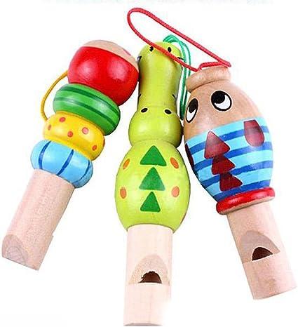 1Pc Cartoon Bird Whistle Musical Instrument Toy Baby Music Toy Children Kid Gift