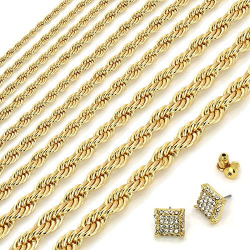 24K Gold Plated High Fashion 24