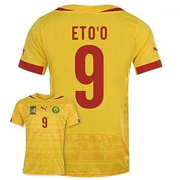 premium selection ae61e 7eb31 2014-15 Cameroon World Cup Away Shirt (Etoo 9), Jerseys ...