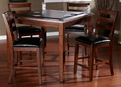 Beau AHB Rosa Dining/Game Table With Flip Top   Mocha