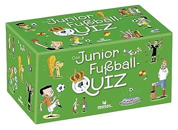 Moses 90233 Das Junior Fussball Quiz Kinderquiz Ab 8 Jahre